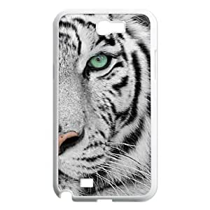 DDOUGS Tiger DIY Cell Phone Case for Samsung Galaxy Note 2 N7100, Discount Tiger Case