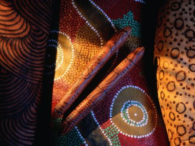 Traditional Aboriginal Artifacts from Central Australia, Australia Photographic Poster Print by John Banagan