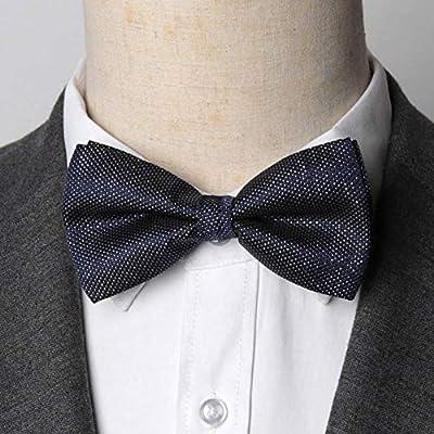 KYDCB Hombres Bowtie Sólido Glisten Moda para Hombre Fiestas de ...