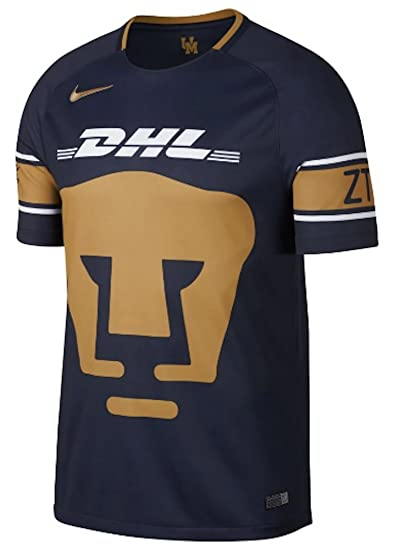 Amazon.com  Nike Breathe Universidad Nacional A.C. Pumas Soccer Stadium  Jersey 2017-18  Sports   Outdoors ec35122b9