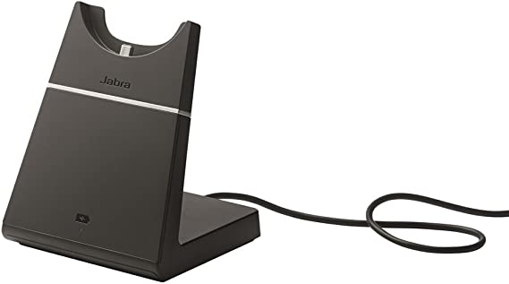 Amazon Com Jabra Evolve 75 Charging Stand Only Provides Easy And Convenient Charging And Storage Authentic Jabra Office Headset Accessory