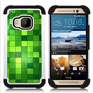 King Case - pattern checkered green bright bling - Cubierta de la caja protectora completa h???¡¯???€????€?????brido Body Armor Protecci?&