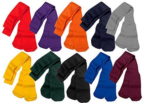 Large Maroon Multisport Tube Socks