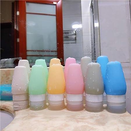BESTOMZ Establecer Botellas de Viaje para cosméticos de Silicona líquidos con Cepillo de Dientes: Amazon.es: Hogar