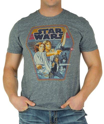 (Junk Food Star Wars Steel T-Shirt)