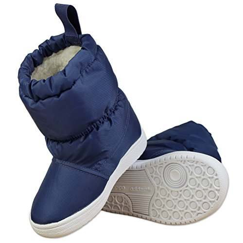 adidas originals Slip On Snow Boots - Oxford Blue, Blu (oxford blue f15-st/ftwr white/ftwr white), 25