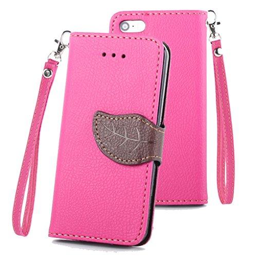 iPhone 5/5S/SE Wallet Case, Yunbaozi PU Leather