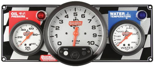 QuickCar Racing Products 61-6031 Gauge Panel -