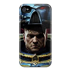 Awesome Space Marine Warhammer 40 000 Flip Case With Fashion Design For Iphone 4/4s