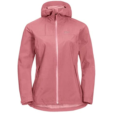 5dad9bf5febbf5 Jack Wolfskin JWP Shell Jacket Women Rose Quartz Größe XS 2019  Funktionsjacke