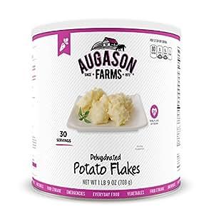 Amazon.com : Augason Farms Dehydrated Potato Flakes #10