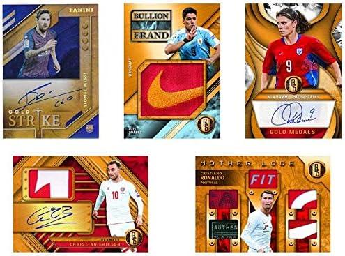 2019//20 Panini Gold Standard Soccer box 7 cards