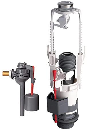 Mecanismo completo - Obras - Pro 3/6 litros - con grifo flotador lateral - Altech 14370002: Amazon.es: Hogar