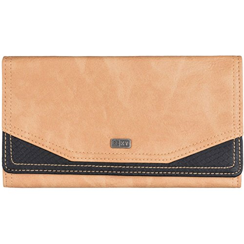 Roxy Lean Back Wallet, Taos Taupe, One Size
