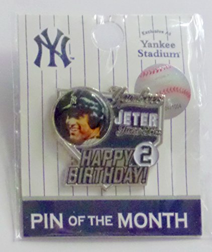 DEREK JETER NY YANKEES EXCLUSIVE STADIUM JUNE PIN OF THE MONTH
