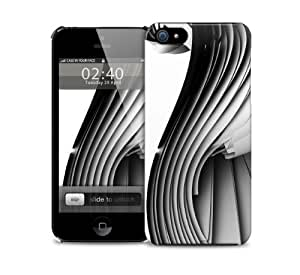 White Abstract Fractal iPhone 5 / 5S protective case