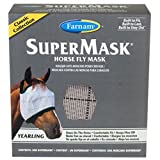 Home Garden Best Deals - Farnam Home and Garden 100502911 No Ears Fly Mask Yearling for Horse
