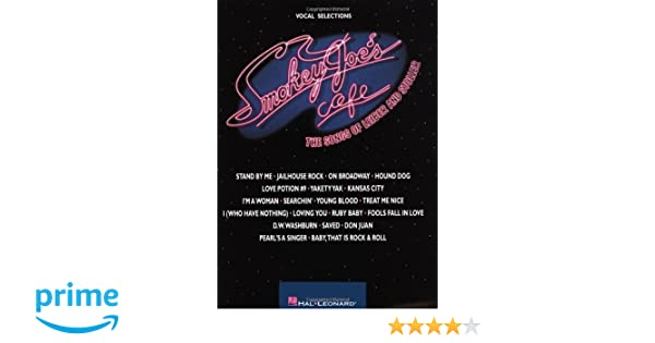 Smokey joes cafe the songs of leiber and stoller jerry leiber smokey joes cafe the songs of leiber and stoller jerry leiber mike stoller 9780793580743 amazon books fandeluxe Choice Image