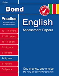 Bond First Papers in English 7-8 years NE (Bond Assessment Papers)