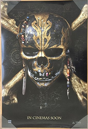 Pirates Of The Caribbean Dead Men Tell No Tales Movie Poster 2 Sided Original Intl Advance 27X40