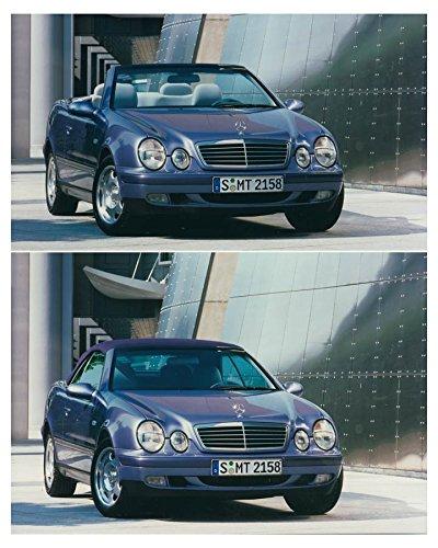 1998 Mercedes Benz CLK Cabriolet Soft Top Automobile Photo Poster Cabriolet Top