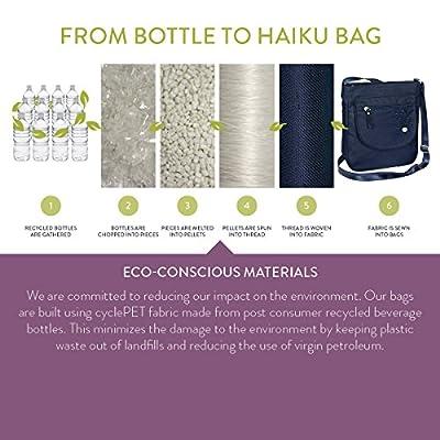 Haiku Women's To Go Convertible Eco Crossbody Handbag