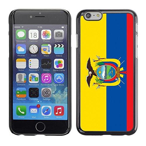 STPlus Ecuador Ecuadorian Flag Hard Cover Case for Apple iPhone 6 / 6S