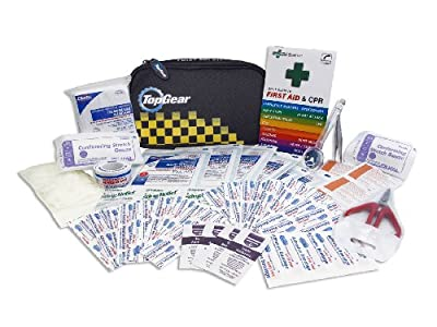 Top Gear First Aid Kit (55-piece) by Top Gear