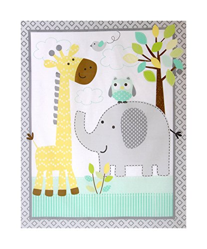 Lovely Fabric Panel for Nursery/Children/Babies Cot Quilt/Wall ... : baby cot panels for quilting - Adamdwight.com