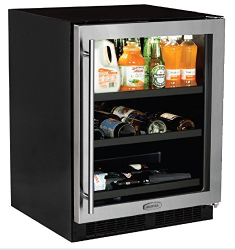 AGA Marvel ML24BCG1RS Beverage Center with Door Right Side Hinge, 24