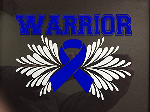Blue Awareness Ribbon Warrior Window Dec Buy Online In Canada At Desertcart