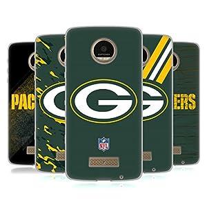 Official NFL Green Bay Packers Logo Soft Gel Case for Motorola Moto Z / Z Droid