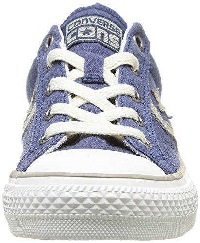 Converse Star Player - Zapatillas de Deporte de canvas mujer azul - Bleu (Marine 10)