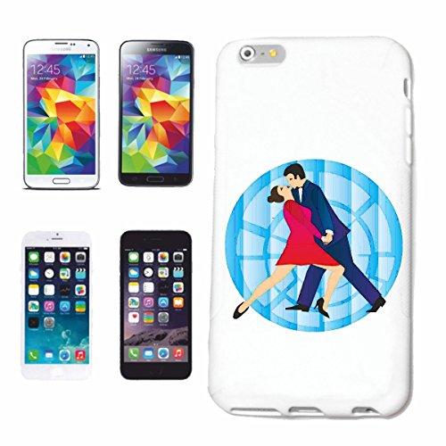 caja del teléfono iPhone 7 Baile de salsa TANGO DANZA FOXTROTT Vals pareja de baile HIPHOP DEL ROCK N ROLL Caso duro de la cubierta Teléfono Cubiertas cubierta para el Apple iPhone en blanco