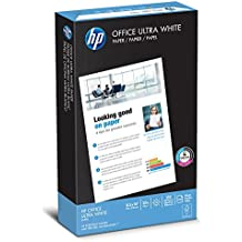 HP Paper, Office Ultra White, 20lb, 8.5 x 14, Legal, 92 Bright , 500 Sheets / 1 Ream, (001422), Made in the USA