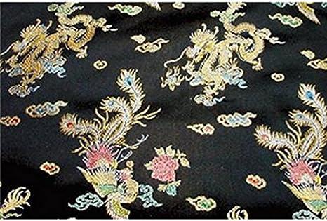Satin Jacquard Brocade Fabric BTY Damask Silky Dress Costume Chinese BRIDAL