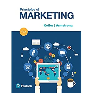51HpG09 3QL. SS300  - Principles of Marketing (17th Edition)