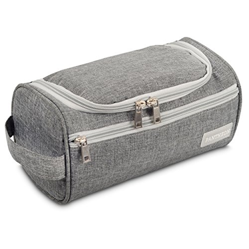 Pantheon Toiletry Organizer Wash Bag Hanging Dopp Kit Travel for Bathroom ()