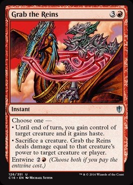 Magic: the Gathering - Grab the Reins (126/351) - Commander 2016