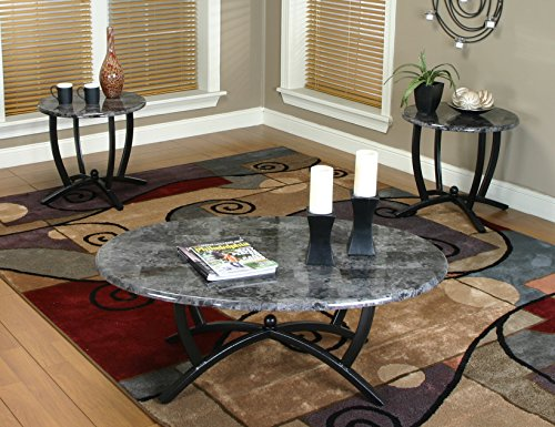 Sunset Trading 3 Piece Sierra Coffee & End Table Set -