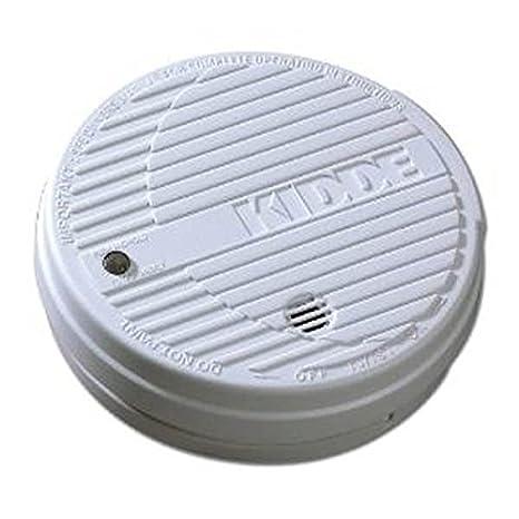 Kidde 16509 – funciona con batería de 9 voltios Detector de humos fotoeléctrico (batería incluida