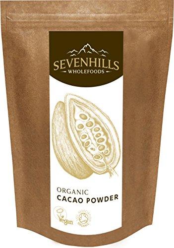 Sevenhills Wholefoods Kakaopulver Bio 500g