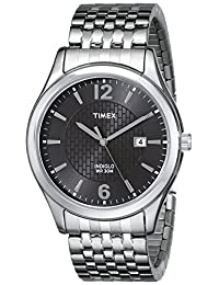 Timex Men's T2N848 Elevated Classics Dress Watch with Expansion Band