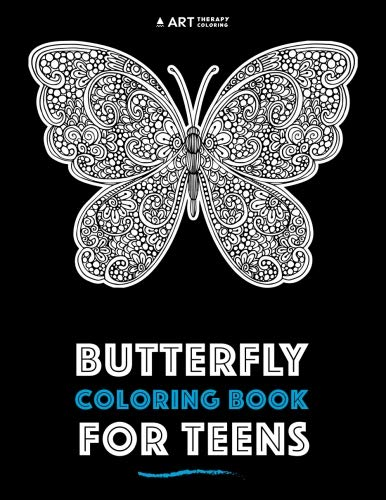 Butterfly Coloring Book For Teens PDF