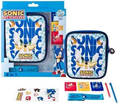 Indeca- Pack de 8 componentes para Nintendo 2DS (incluye funda) de SONIC: Amazon.es: Videojuegos