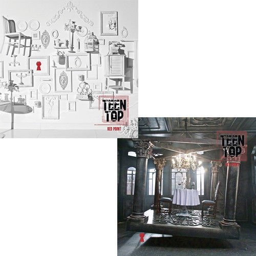 TEEN TOP RED New color POINT 7th Mini Random CD+Pho Album CHIC Ver ...