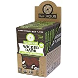Taza Chocolate | Amaze Bar | Wicked Dark with Toasted Coconut | 95% Stone Ground | Certified Organic | Non-GMO | 10 count