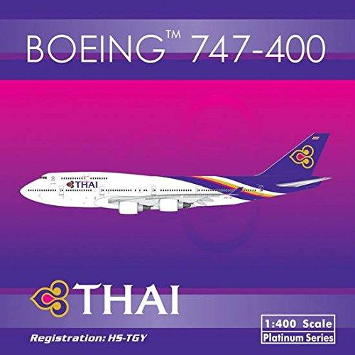 Thai Airways B747-400 (New Livery) HS-TGY (1:400); PH4THA1377