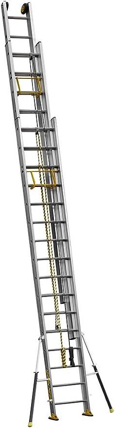 Centaure Escalera corredera 3 Plans con Cuerda C3 Stab 4 M60/11 m50: Amazon.es: Jardín