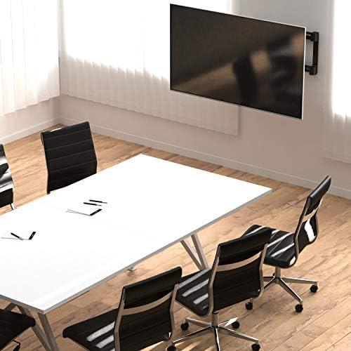 Amazon Basics Dual Arm Full Motion TV Mount - 37-Inch to 80-Inch